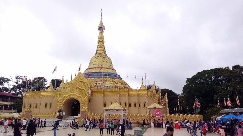 Wisata Taman Alam Lumbini Berastagi Pagoda Shwedagon dan Harga Tiket masuk
