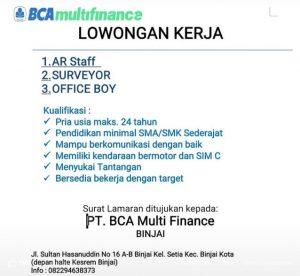 Lowongan Kerja Lulusan SMA November 2019 - loker Medan ...