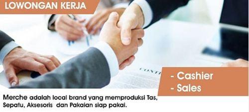 Lowongan Kerja Kasir di Medan 2020 terbaru di Merce