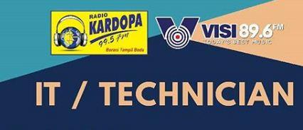 Lowongan Kerja Medan 2020 di Radio Kardopa
