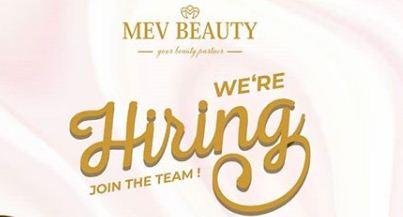 Lowongan kerja Mev Beauty Asisstant Medan 2020 Terbaru Hari ini
