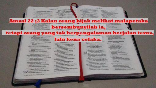 Alkitabku Pedomanku Pencegahan Virus Corona Covid - 19 Menurut Alkitab Kristen