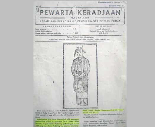 Sejarah Asal Mula Sinaga di Simalungun dan Tanah Djawa