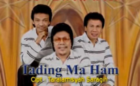 Lirik Lagu Tading Ma Ham dan Artinya Ciptaan Taralamsyah Saragih