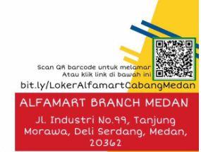 Barcode Melamar Kerja di Alfamart Medan