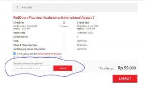 Cara mendapatkan penginapan yang murah di Bandara Kualanamu