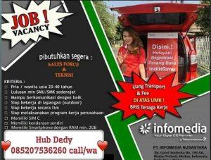 Contoh Lamaran Ke PT Infomedia Nusantara