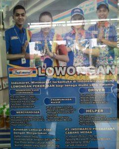 Iklan lowongan kerja Minimarket