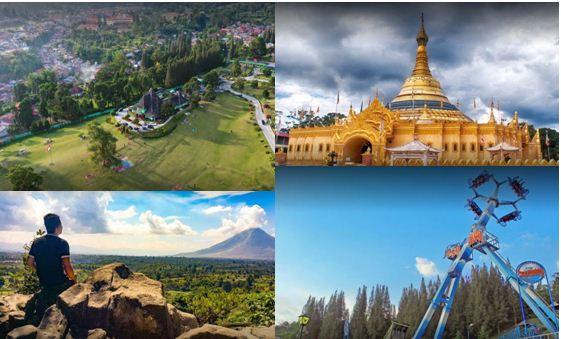 Tempat Wisata di Berastagi Yang Paling Populer di Sumatera Utara
