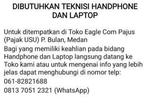informasi lowongan kerja di Toko HP