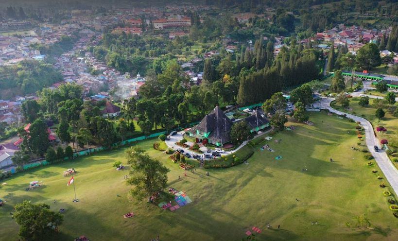 tempat Wisata di Bukit Kubu Berastagi