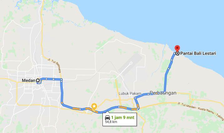 Alamat Pantai Bali Lestari
