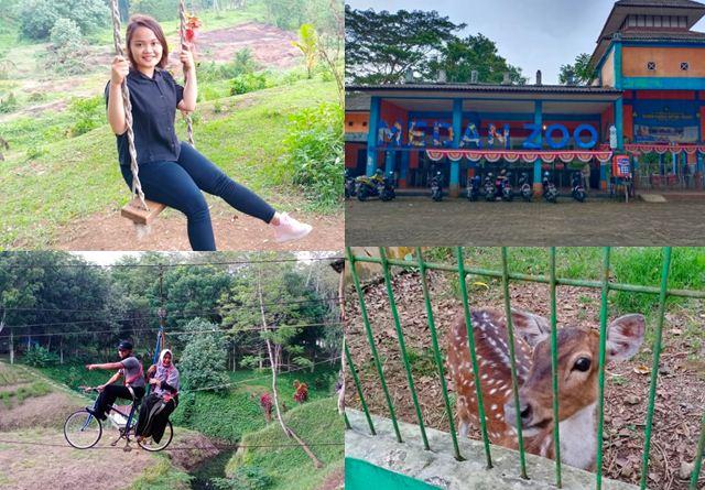 Harga Tiket Masuk Kebun Binatang Simalingkar Medan ( zoo ) dan Video