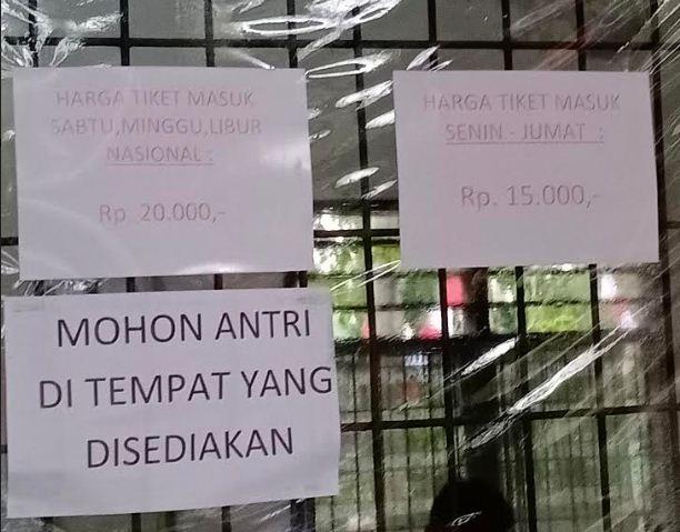 Harga Tiket Masuk Kebun Binatang Simalingkar b Medan