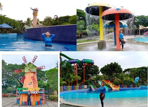 Harga Tiket Masuk Waterpark Pantai Cermin Medan dan gambar Menarik