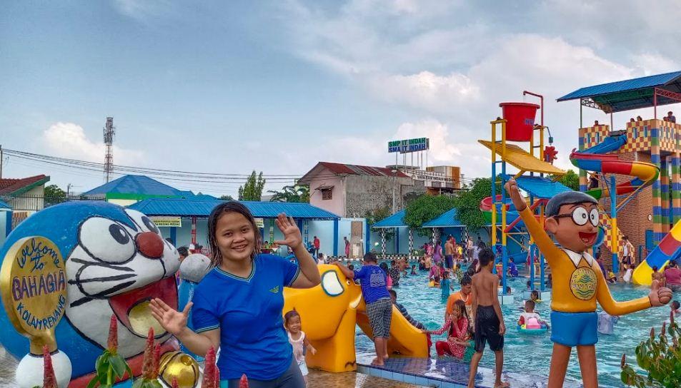 foto kolam renang bahagia medan 2020