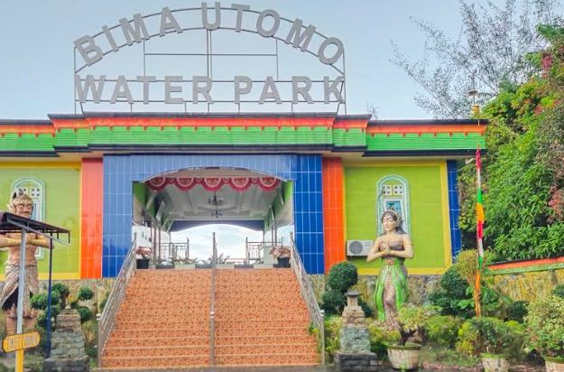 Harga Tiket Masuk Kolam Renang Bima Utomo waterpark Foto,Video 2020