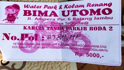 tiket masuk bima utomo