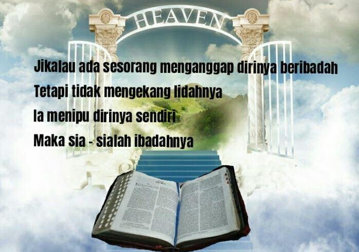 Ibadah Yang Benar Murni Menurut Alkitab Sebagai Pedoman Kristen