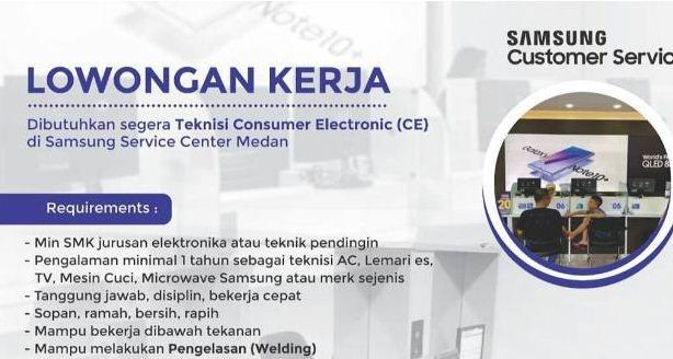 Contoh Surat Lamaran Kerja di Samsung Service Center Yang Benar
