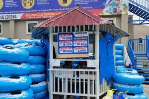 biaya tiket masuk waterland Tanjung Morawa